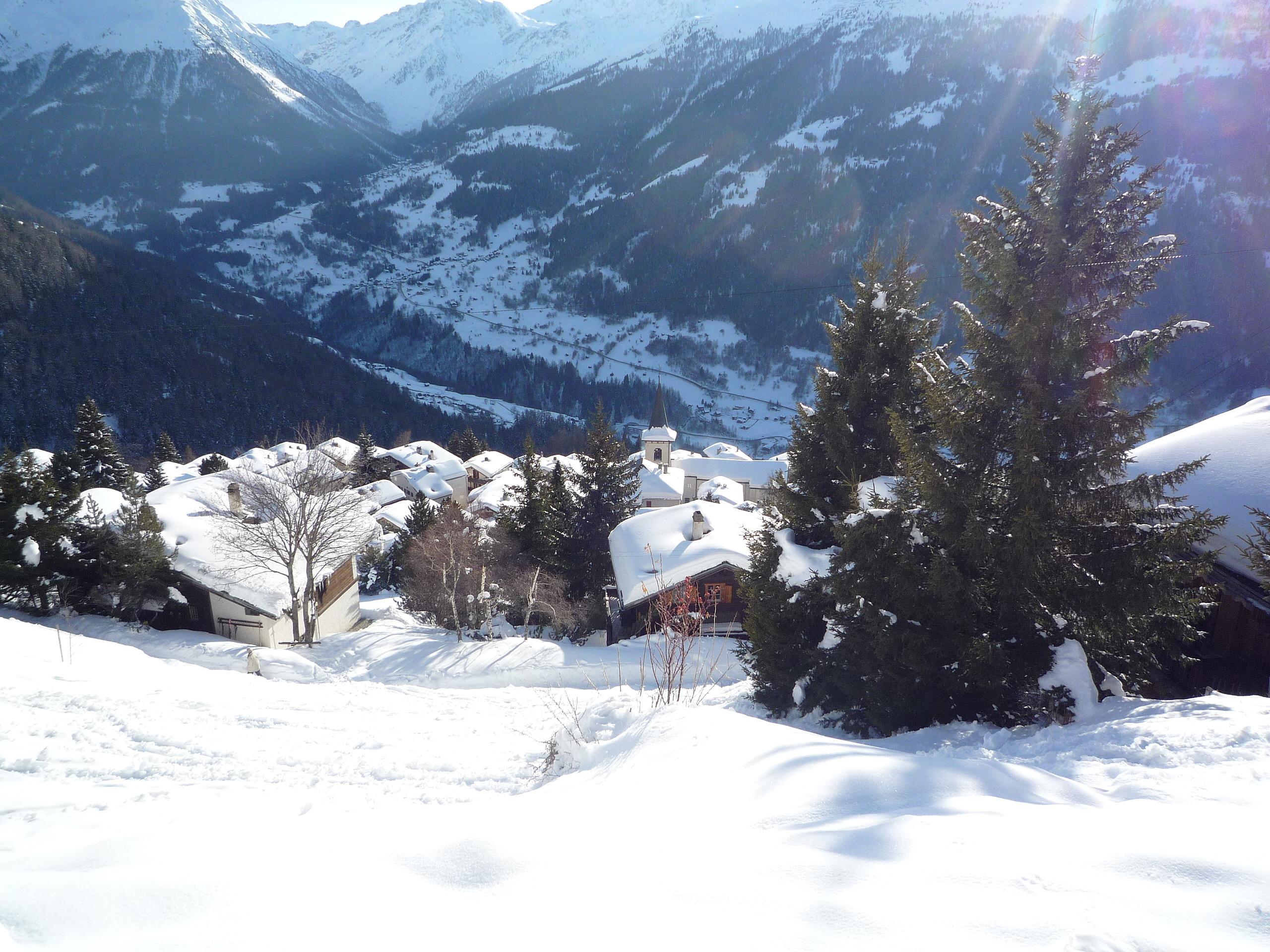 St-Luc en hiver